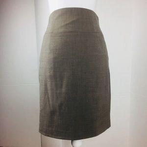 Banana Republic Brown Career Pencil Skirt